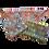 Thumbnail: ÉLELMISZERBIZTOS SZETT - Vidám Csirkék asztali szalvétával