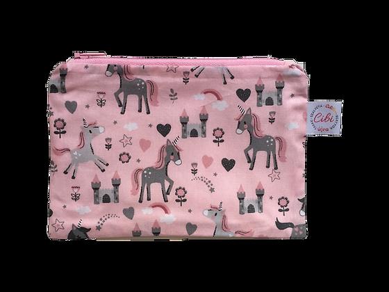 ÉLELMISZERBIZTOS ÚJRATASAK - Unikornis pink 18x12