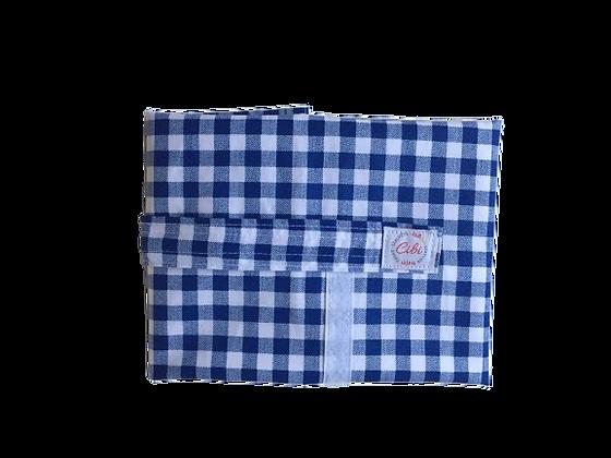 ÉLELMISZERBIZTOS ÚJRASZALVÉTA - Kockás kék XL
