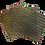 Thumbnail: Méhviaszos élelmiszercsomagoló - S szett / 3 db - Katicák