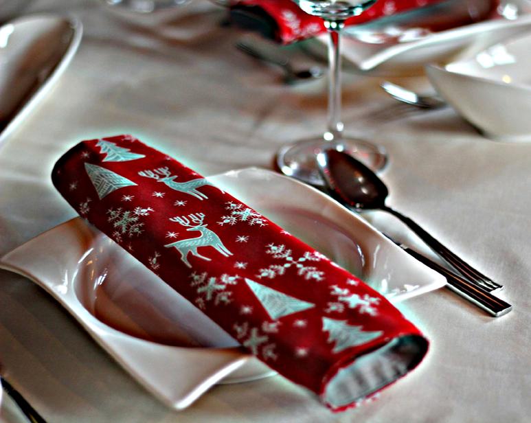 asztali textil szalvéta
