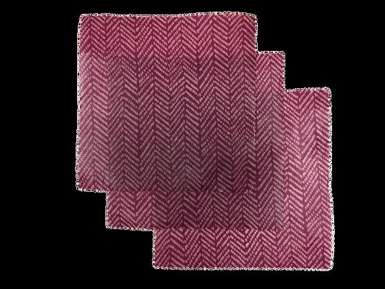 Méhviaszos élelmiszercsomagoló - S szett / 3 db - Pink