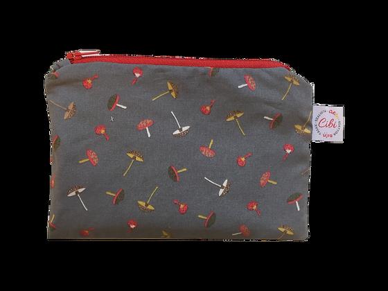 ÉLELMISZERBIZTOS ÚJRATASAK - Gombák hamuszürke 18x12