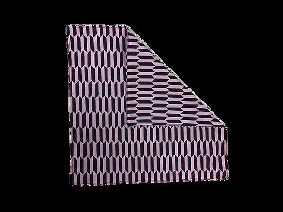 ASZTALI TEXTIL SZALVÉTA - Paralelogramma sötétkék