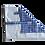 Thumbnail: ÉLELMISZERBIZTOS ÚJRASZALVÉTA - Kockás kék XL