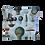 Thumbnail: ÉLELMISZERBIZTOS ÚJRATASAK - Hőlégballon kék XL