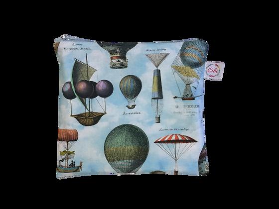 ÉLELMISZERBIZTOS ÚJRATASAK - Hőlégballon kék XL