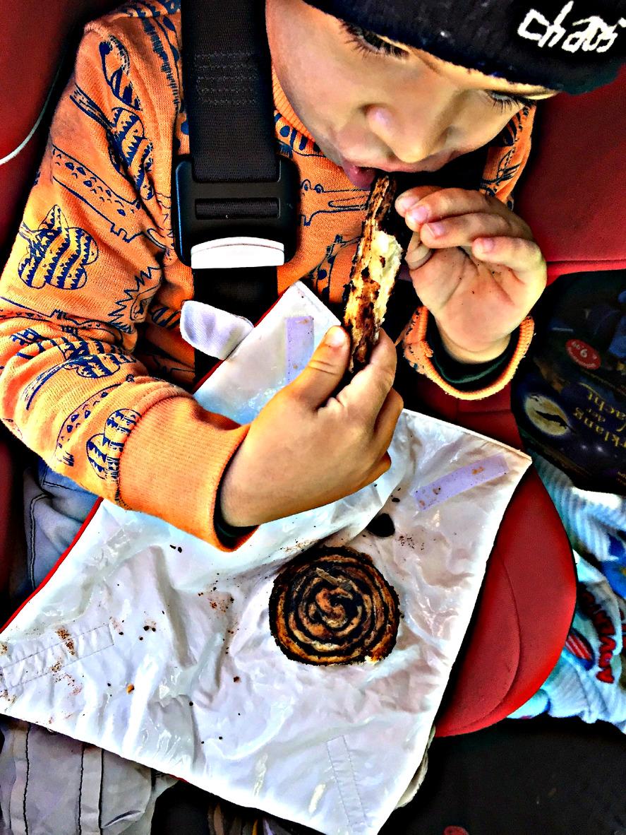 reggeli kakaós csiga