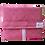 Thumbnail: ÉLELMISZERBIZTOS ÚJRASZALVÉTA - Négyzetek Pink XL