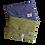 Thumbnail: ÉLELMISZERBIZTOS ÚJRASZALVÉTA - Négyzetek Zöld XL