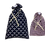 Thumbnail: Bélelt Kenyeres Zsák szett - Legyezővirág / Paralelogramma