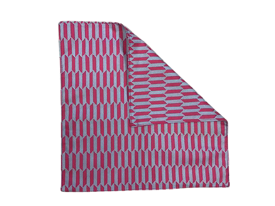 ASZTALI TEXTIL SZALVÉTA - Paralelogramma pink