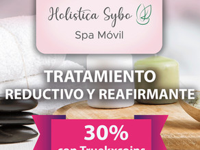 Holística Sybo 💆🏻♀️ Spa Móvil 💆🏽♂️ paga tu tratamiento reductivo y reafirmante con 📲 TRUEKXCOINS