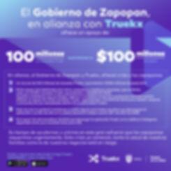 Apoyo de Truekx y Gobierno de Zapopan