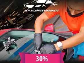Reparacion de parabrisas 🚘 al 30% en TRUEKXCOINS💰 y servicio a domicilio.