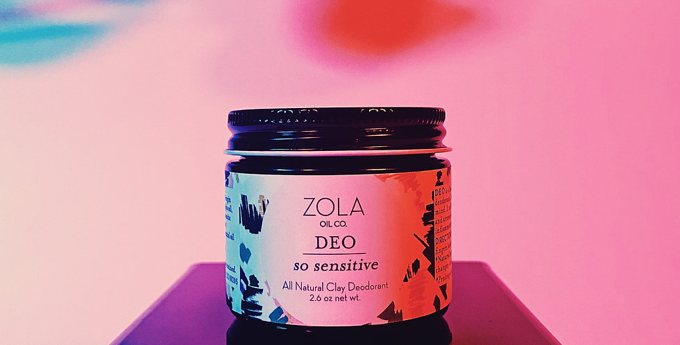 DEO: So Sensitive