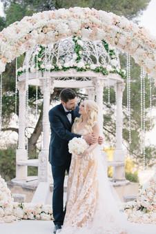 Bridal look, bridal makeup and hair, french riviera weddings