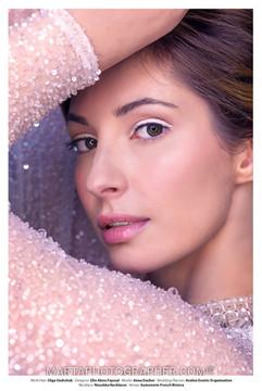 Beauty, Bridal portrait ,white eyeliner, natural beaty, bridal photo shoot