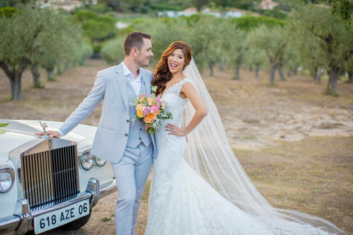 Garden style weddings, french riviera weddings, bridal makeup and hairstyle