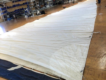 Adding fourth reef on the mainsail