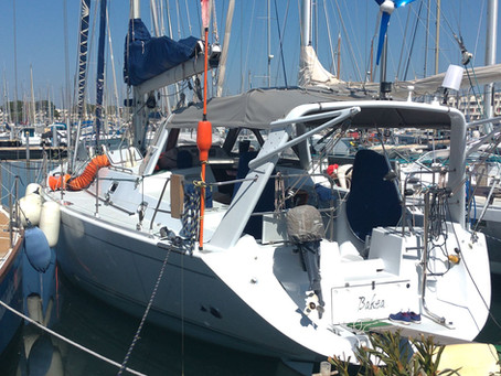 SY ACQUA back in the water