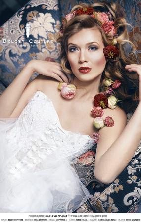 Bridal stylist, flower hair, bridal makeup, bridal hair, hotel negresco