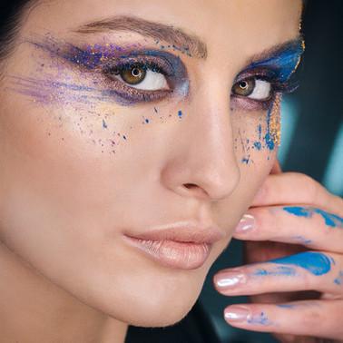 colorful makeup, creative makeup