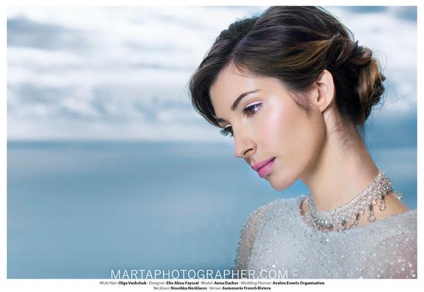 bridal photo shoot, bridal stylist, fresh glowy makeup look, makeup and hair style