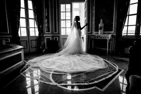 Bridal stylist, destination weddings, chateau saint george