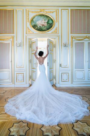 Bridal hair, bridal stylist, french riviera weddings, chateau saint George, destination wedding, dream weddings