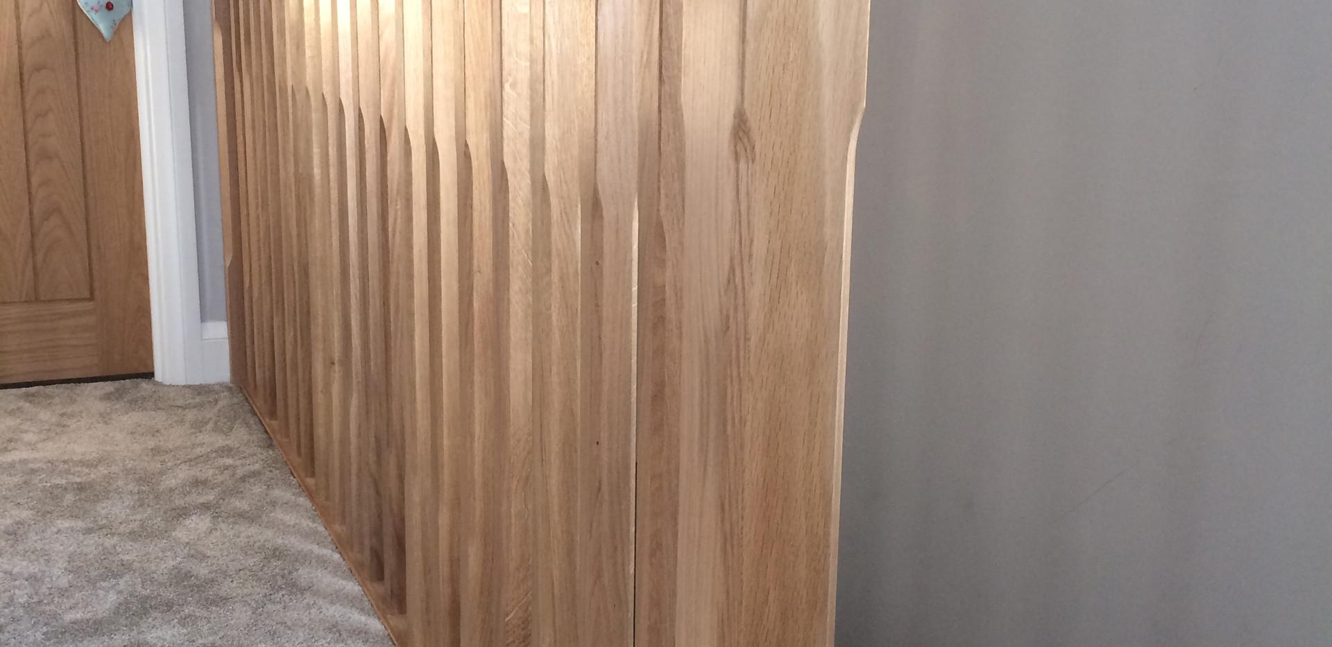 Oak balustrade