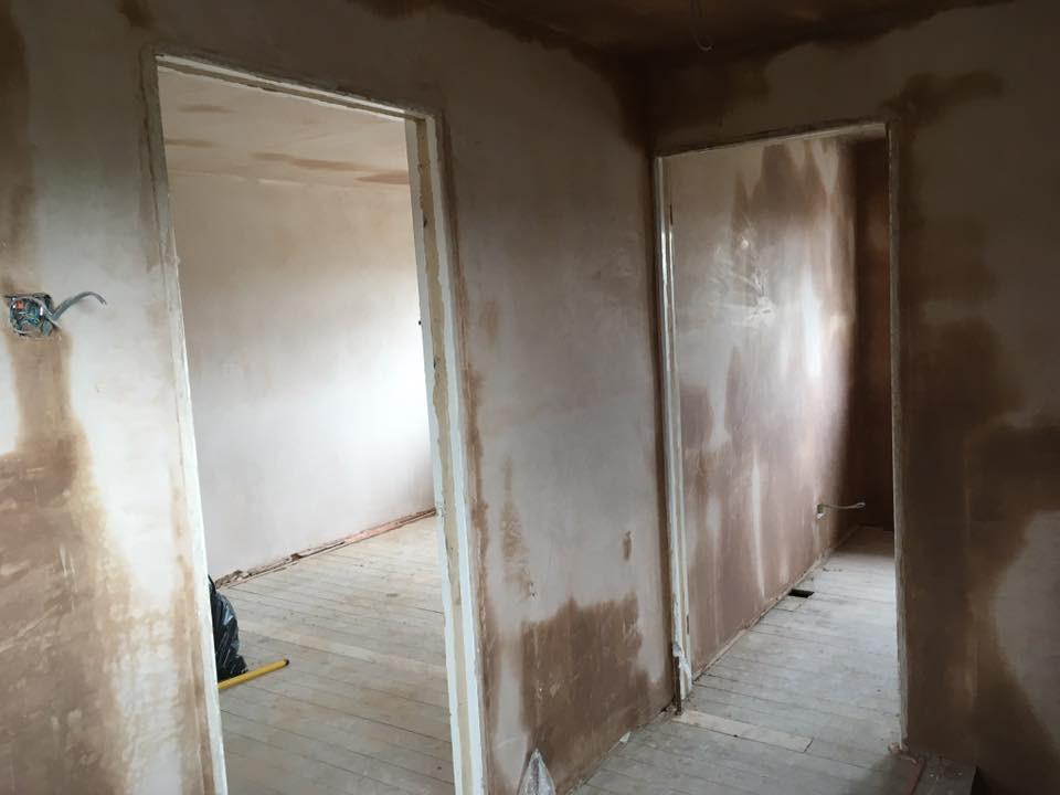 Upstairs refurbishment before