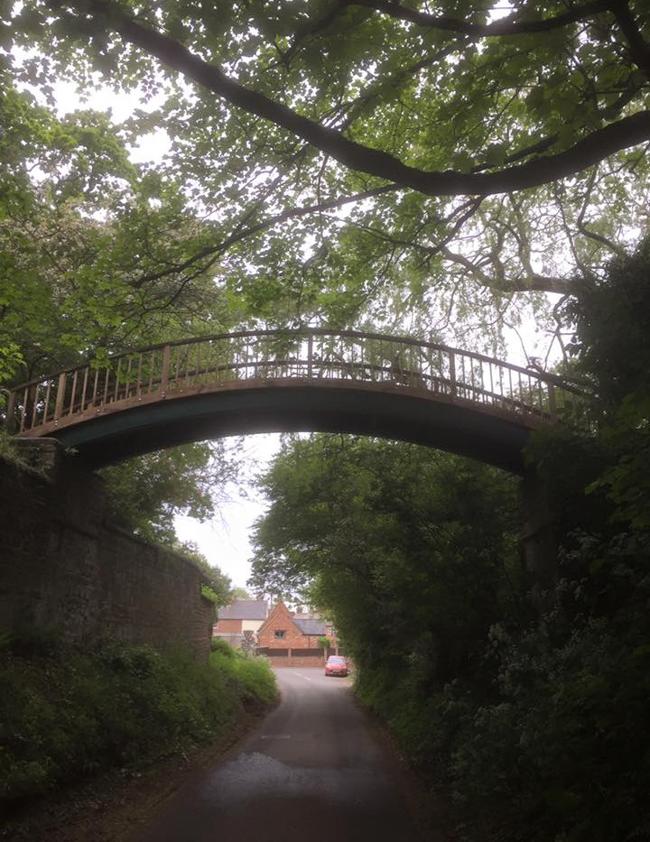 Bespoke foot bridge