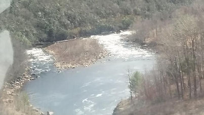 Tailwater of Francis Walter Dam AKA Lehi
