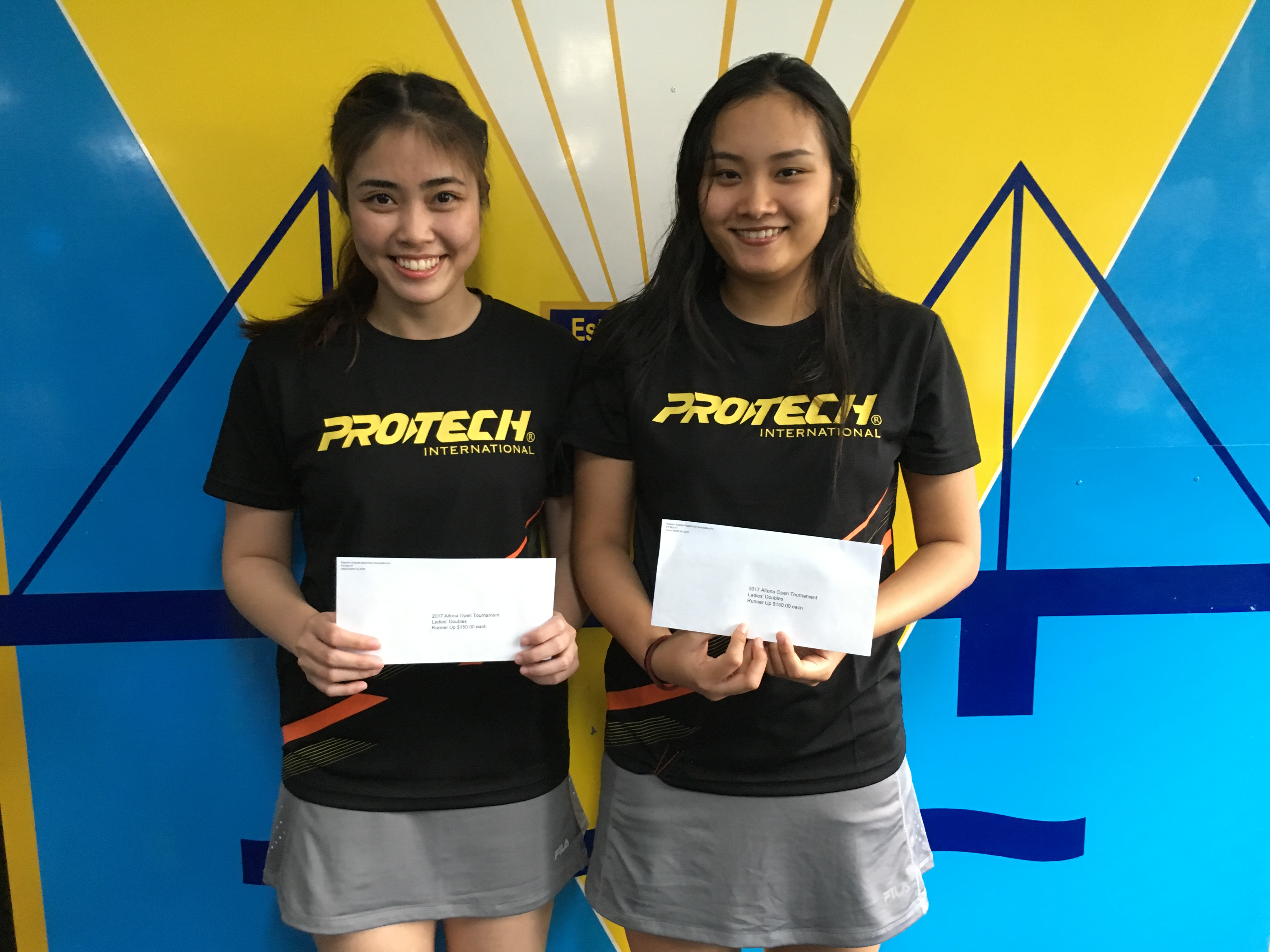 2017 Yonex Altona Open Runners Up Womens Doubles  Preeyanut Suriyanrattakorn & Montra Thanaormwong
