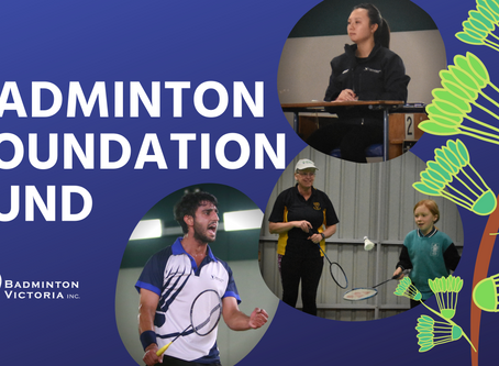 Granted! - Badminton Foundation Fund 2020