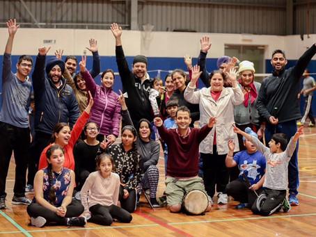 Casminton with Landmark Community Sports Club