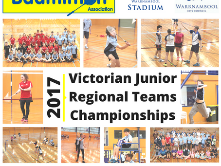 2017 Victorian Junior Regional Teams Championships and Junior Coaching Session