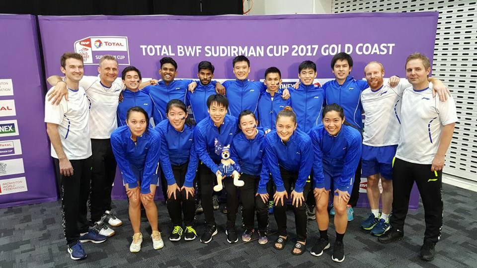 Photo of the Australian Team (Source: Badminton Australia)