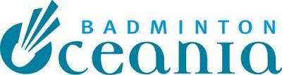 Badminton Oceania Logo - Transparent