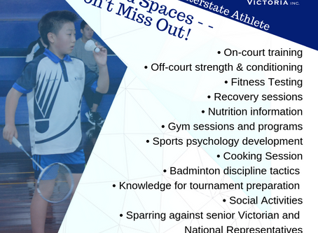 Apply Now - 2019 Junior High Performance Camp