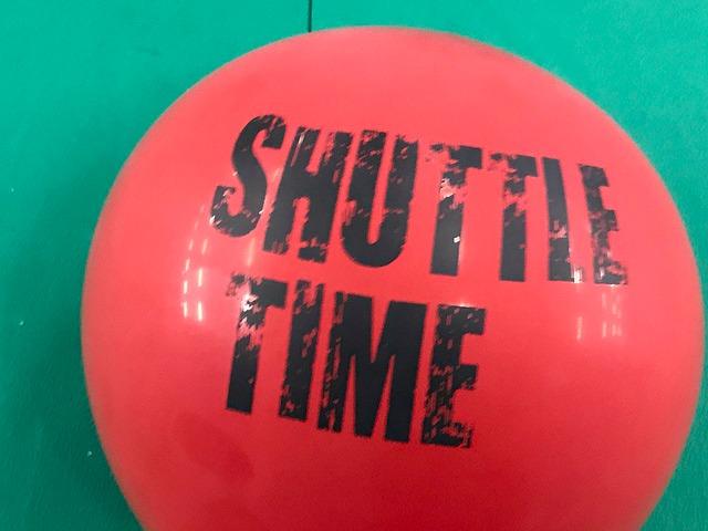 Shuttle Time balloon