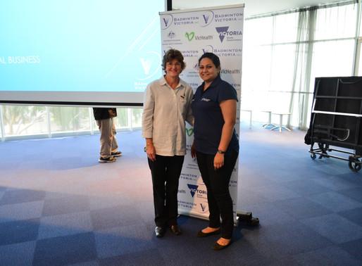 Badminton Victoria Life Membership and Service Awards at the 84th BV AGM