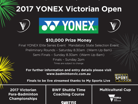 2017 Festival of Badminton!