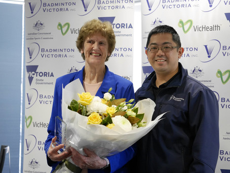 Updates from the 86th AGM of Badminton Victoria (April 2019)