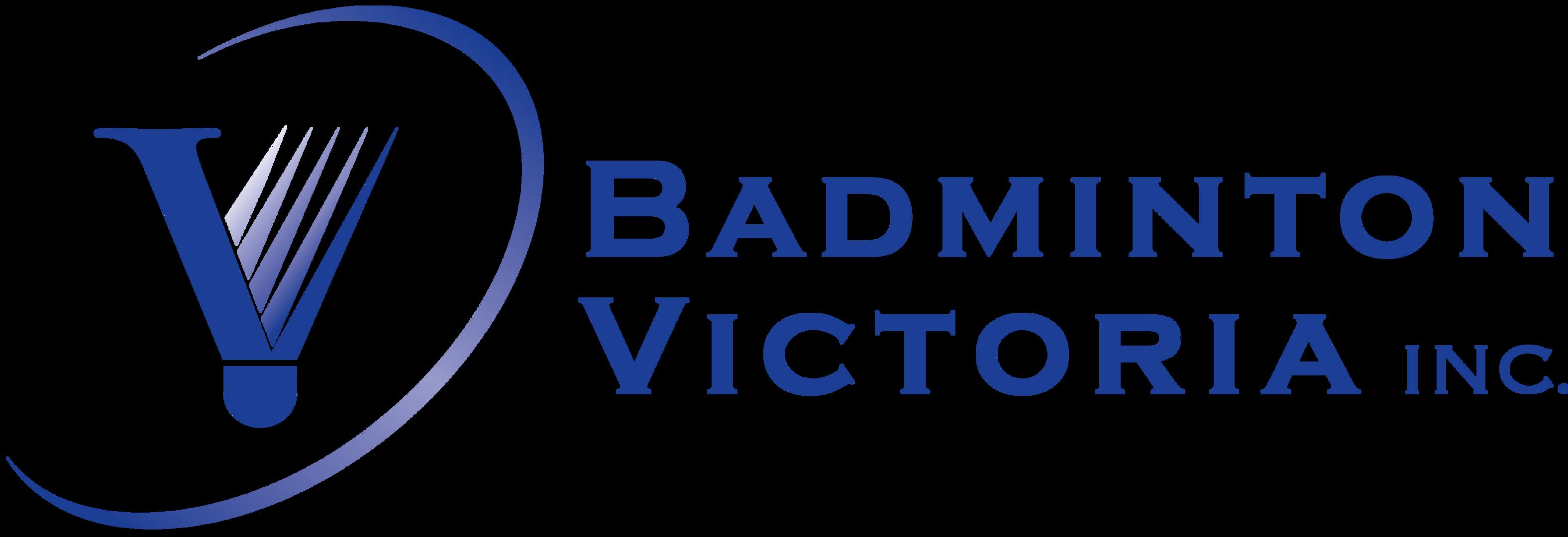 Badminton Victoria Logo - Horizontal - P