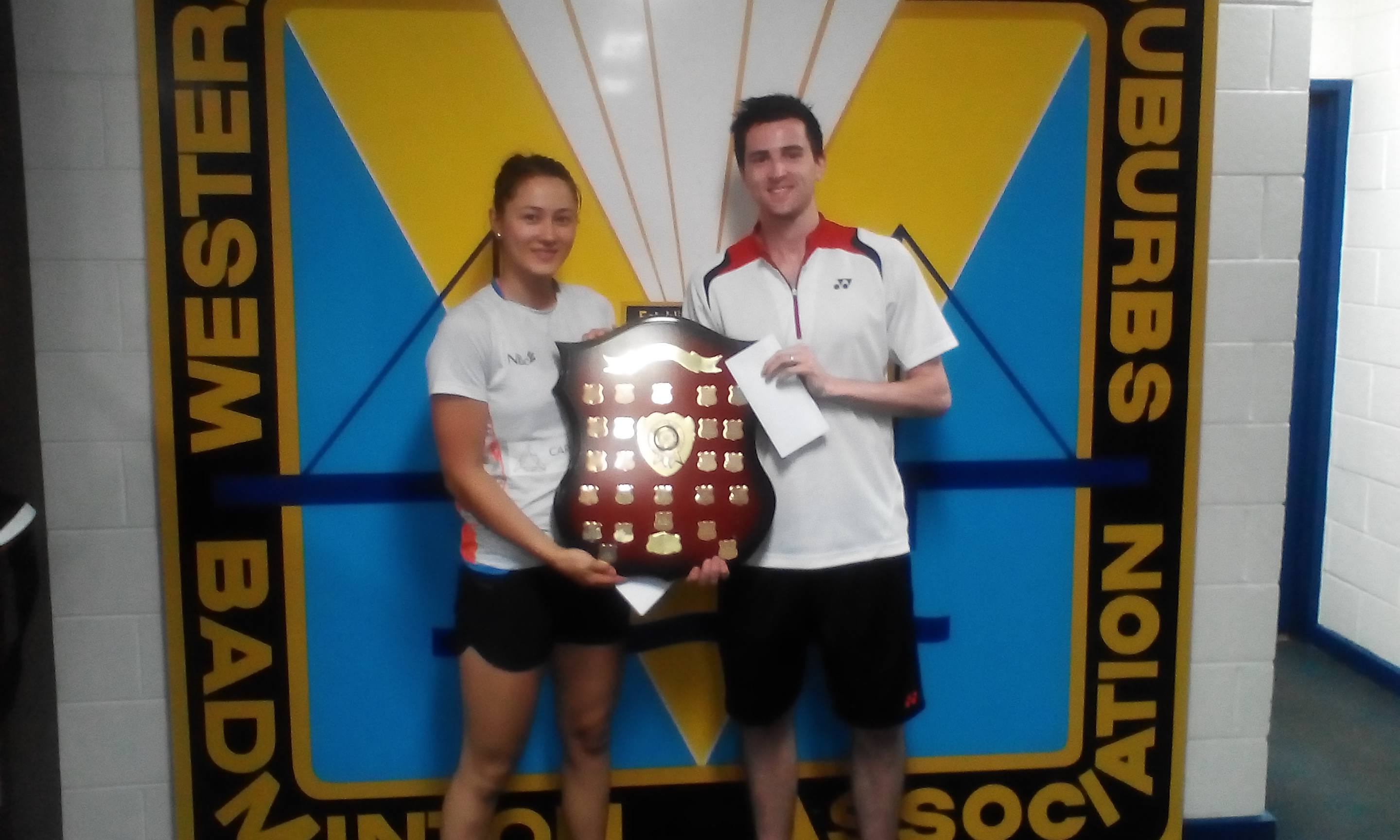 2017 Yonex Altona Open, Winners Open Mixed Doubles Gronya Somerville & Matt Nottingham