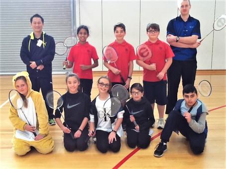 Badminton at Plenty Parklands Primary School