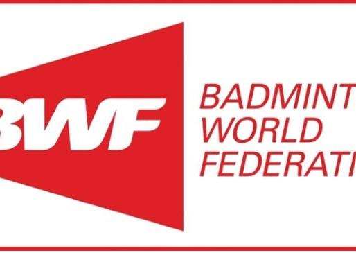 Laws of Badminton - Ammendments November 2017