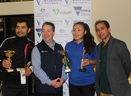 BV supports the 6th Victorian Badminton Tournament by the Nepalise Association of Victoria
